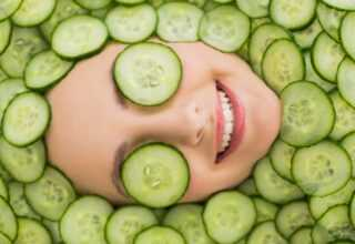 Salatalıklı yüz maskesi nasıl yapılır?